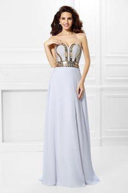 5b61f3def912 75 Ärmelloses Chiffon Herz-Ausschnitt Reißverschluss Abendkleid mit Empire  Taille