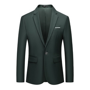 Männer Host Jacke Business Event Blazer Slim Fit Smart Büroarbeit