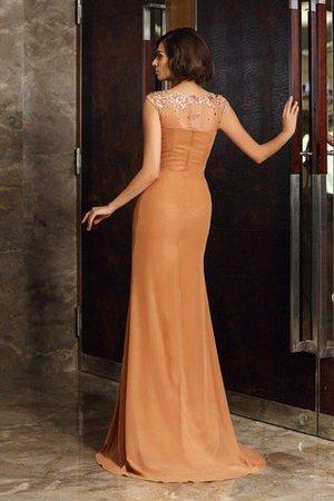 kleiden Sie sich zurück online können Sie das perfekte Kleid bekommen 9ce2-qlxcs-schaufel-ausschnitt-chiffon-sweep-zug-enges-sittsames-brautmutterkleid